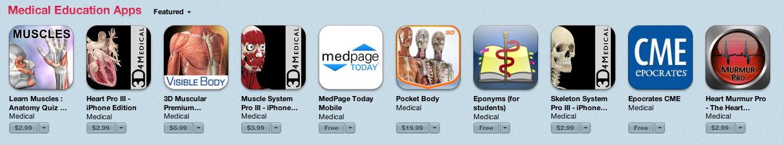 Apple'dan Sağlık Profesyonellerine Özel Uygulamalar Kategorisi