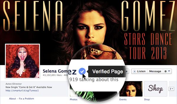 """Facebook'ta Yeni """"Verified Account"""" Dönemi"""