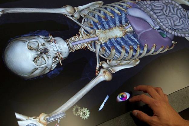 Yeni Teknoloji: 3D Diseksiyon Masası