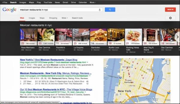 Google'dan Knowledge Graph Carousel Özelliği