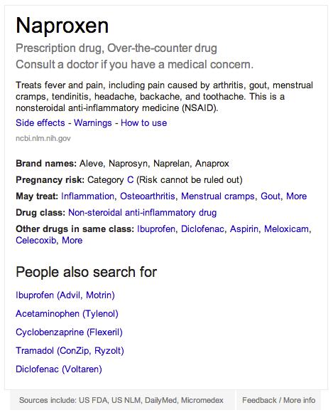 Google Arama Sonuçlarına İlaçların Detaylarını Ekleyecek
