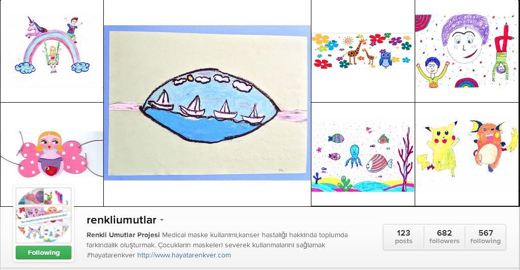 Instagram'da Renkli Umutlar Yarışması