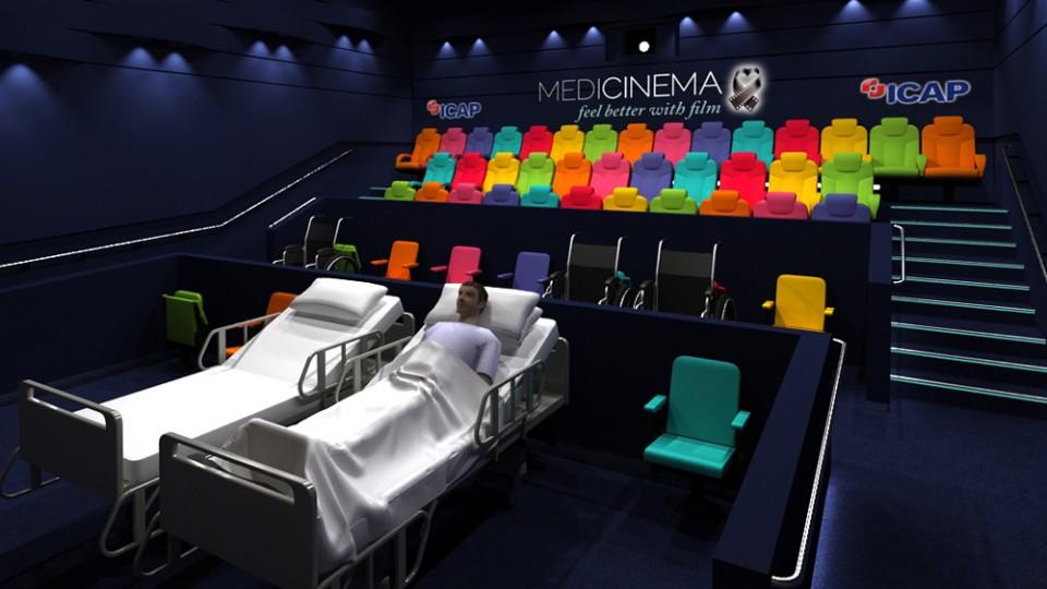 Londra'da Bulunan Hastaneye 3D Sinema Salonu Kuruldu