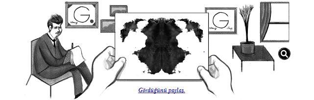 Google'dan Rorschach Testi