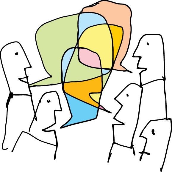 konuşma görsel