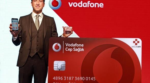Vodafone Mobil Sağlığa Adım Atıyor
