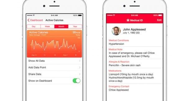 Apple'ın Yeni Sağlık Uygulamaları