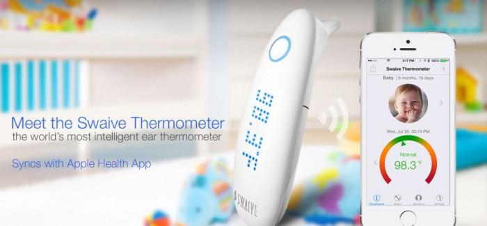 Apple ile Senkronize Akıllı Kulak Termometresi