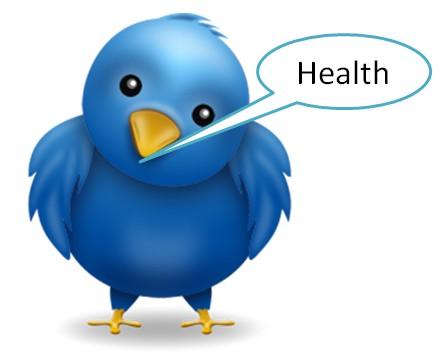twitter sağlık