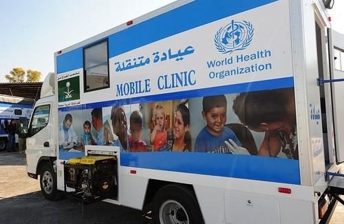 Irak'ta Mobil Sağlık Hizmeti