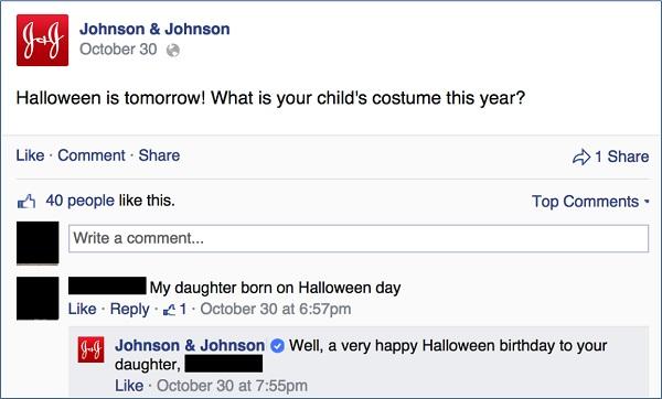 johnson and johnson cadılar bayramı