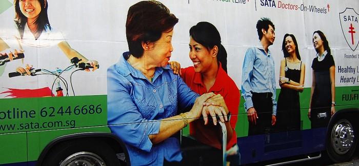Singapur'da Kurulan İlk Mobil Sağlık Merkezi