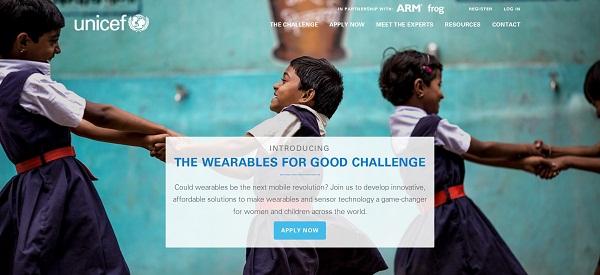 UNICEF ve Giyilebilir Teknoloji El Ele