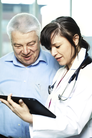 Female-Doctor-with-Tablet