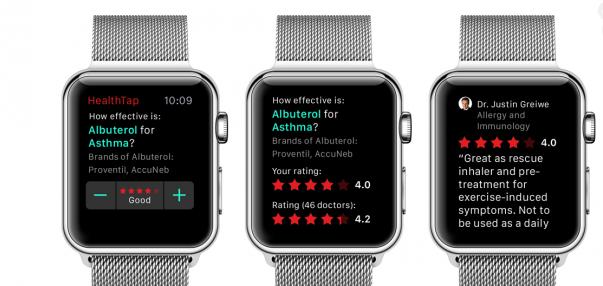 Doktorlara Özel Apple Watch Uygulaması