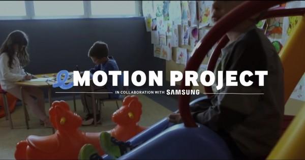Samsung ve eMotion Project, Küçük Hastaları Sanal Parka Götürüyor