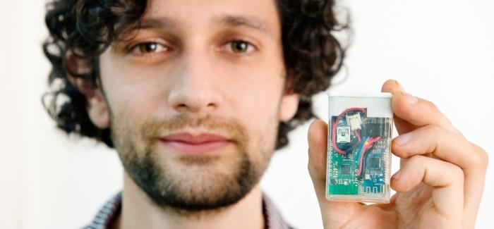 Hacker Üretimi Kan Şekeri Ölçüm Cihazı