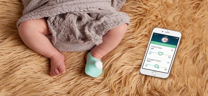 Bebeklere Özel Akıllı Çorap: Owlet