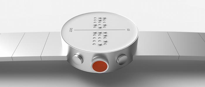 Görme Engelliler İçin Üretilen Akıllı Saat: Dot