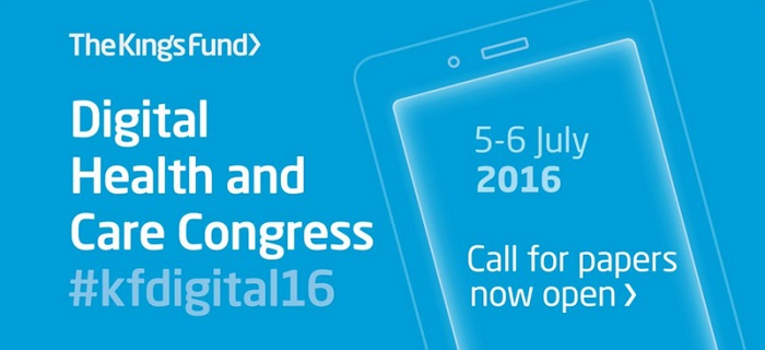 Digital Health and Care Congress 2016 Yaklaşıyor!