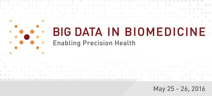 Big Data In Biomedicine 2016 Konferansı
