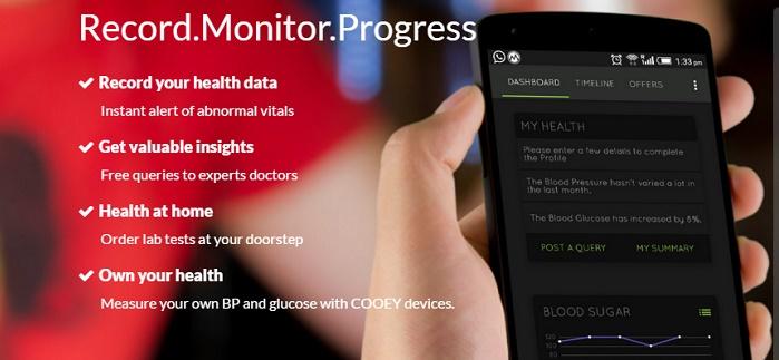 Cooey'nin Kronik Hastalık Takibi Uygulaması 75.000 Kişiye Ulaştı