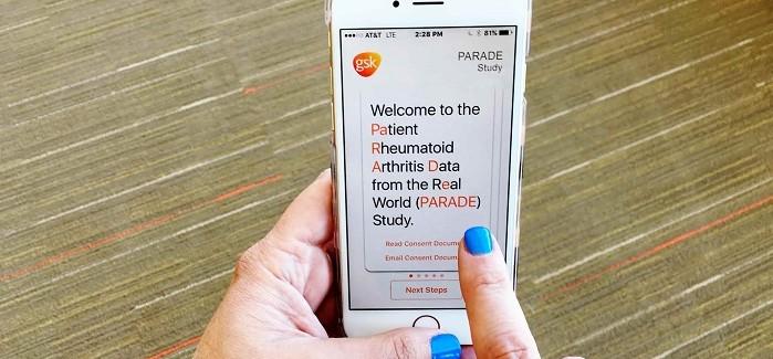 GlaxoSmithKline Mobil Uygulama ile Eklem İltihabı Araştırması Yapacak