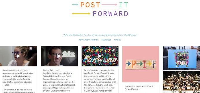 Tumblr Ruh Sağlığı Problemlerine Çare Olmaya Devam Ediyor