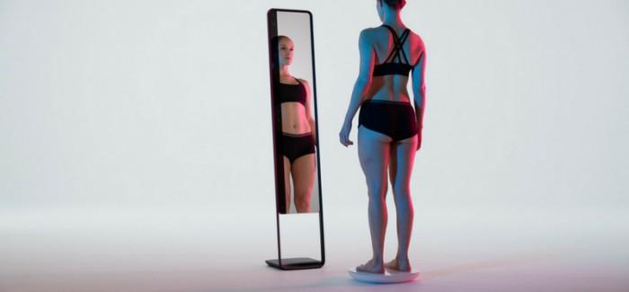 """Fütüristik """"Akıllı Ayna"""" Bedeninizin Sanal Kopyasını Akıllı Telefonunuza Yüklüyor"""